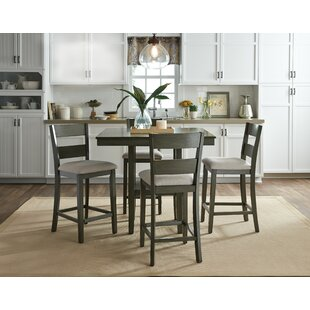 Charming Brantford 5 Piece Counter Height Dining Set