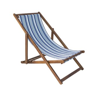 Sharie Folding Deck Chair by Lynton Garden