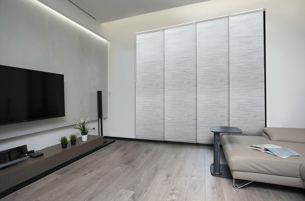 vertical blinds darkening light selections room actual common pd vinyl shop taupe x style in cordless