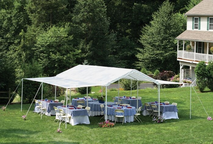 ... or birthday party to provide shelter from the elements. Event canopies can also be used a temporary car port to protect valuable automobiles. & Canopy Buying Guide | Wayfair.ca