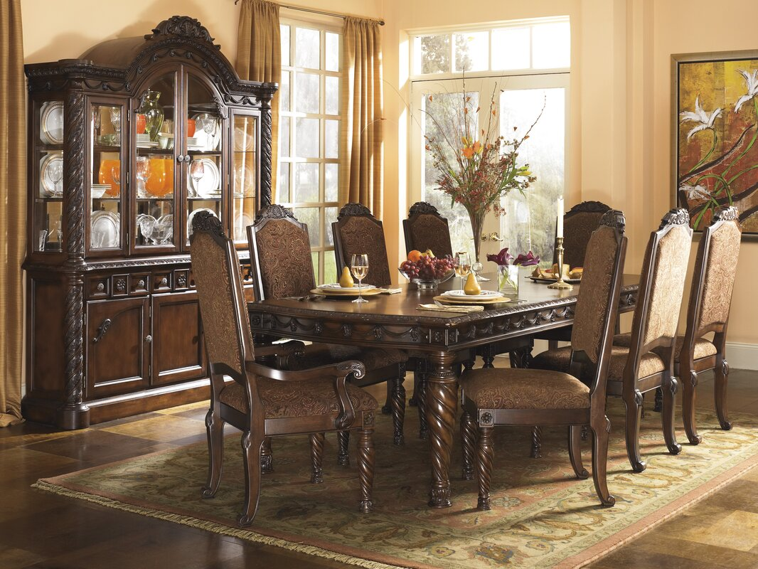 astoria grand castlethorpe 9 piece dining set u0026 reviews wayfair