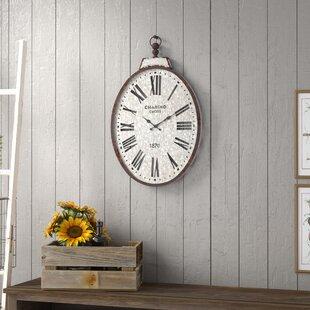 Stapleton Pocket Watch Wall Clock