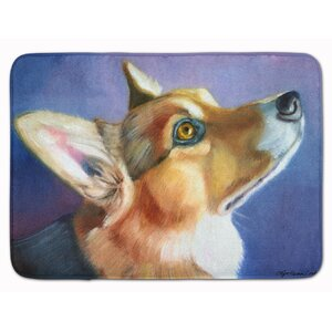 Corgi Devotion Memory Foam Bath Rug