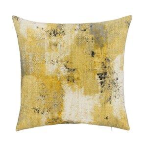 Urban Decay with Bone Velvet Back Throw Pillow