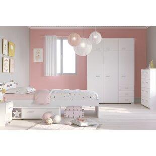 Anpassbares Schlafzimmer Set Galaxy, 90 × 200 Cm