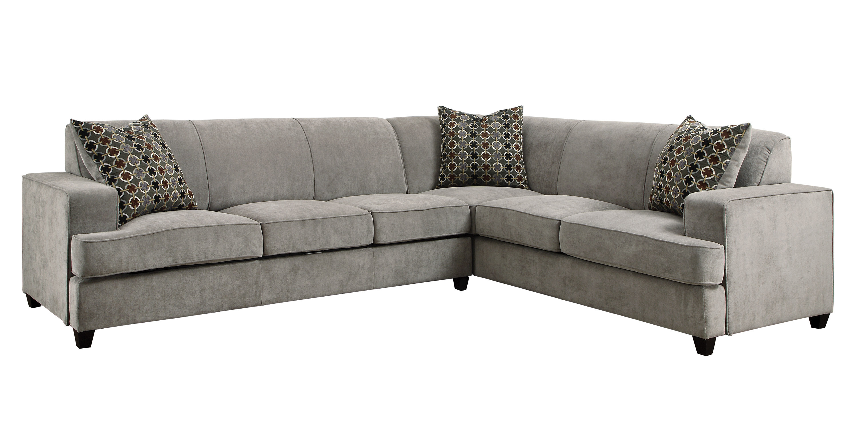 Darby Home Co Caswell Sleeper Sectional & Reviews | Wayfair