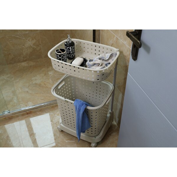 Laundry Basket With Lid And Wheels Home Decorating Ideas