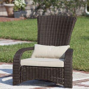 Resin Wicker Lounge Chairs wicker chairs you'll love | wayfair