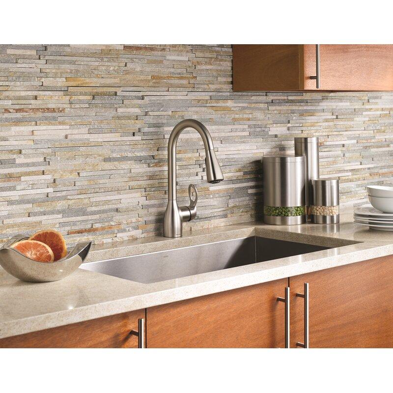 Moen Kleo Single Handle Kitchen Faucet With Reflex And Duralock