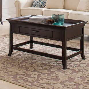 Captivating Clermont Tray Edge Coffee Table