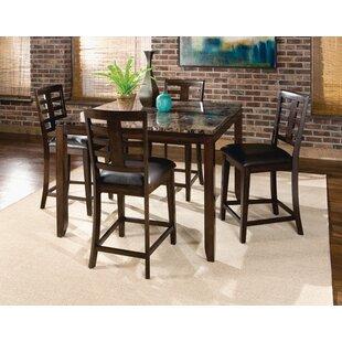 Bella 5 Piece Pub Table Set