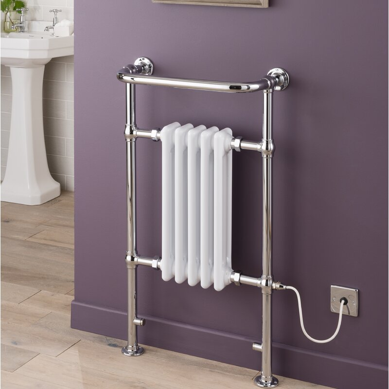Acton Floor Mounted Heated Towel Rail