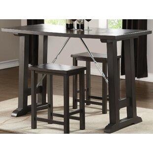 Kohan 3 Piece Counter Height Dining Set