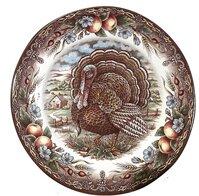 Turkey 11  Dinner Plate (Set of 4)  sc 1 st  Wayfair & Turkey Dinner Plates | Wayfair