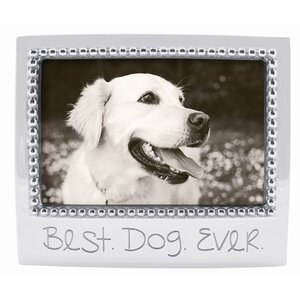 Expressions Best Dog Ever Picture Frame