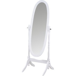 Cream Floor Mirror | Wayfair