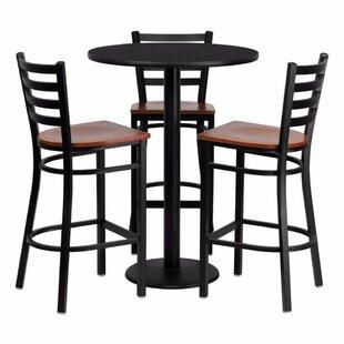 Gentil Philbrook 4 Piece Pub Table Set