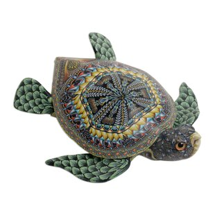 Clabaugh Vibrant Sea Turtle Sculpture