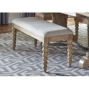 Schall Upholstered Bench by Bay Isle Home