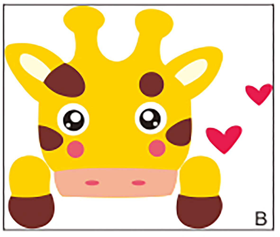 RetailSource Giraffe Switch Wall Decal   Wayfair