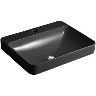 Save. Kohler. Vox Rectangular Vessel Bathroom Sink ...