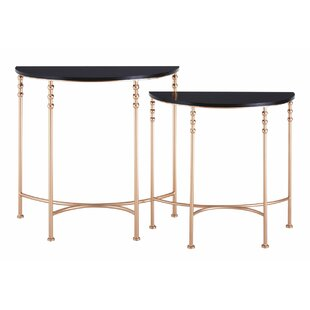 Tybrook 2 Piece Half Round Console Table ...
