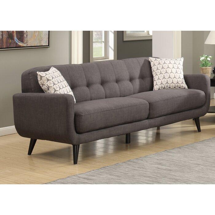 Crystal Mid Century Sofa