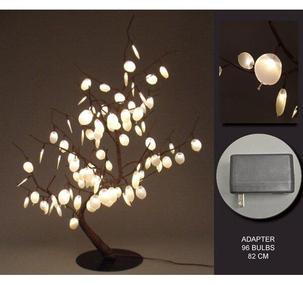 Hi-Line Gift Ltd. Floral 96 LED Light Dollar Bonsai Tree