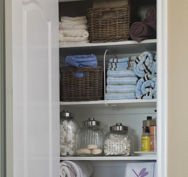 8 Ideas For Organizing Your Linen Closet