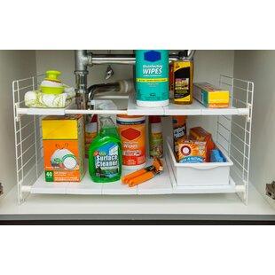 IRIS Kitchen Cabinet Storage You'll | Wayfair on kitchen closet shelves, kitchen storage shelves, pantry cabinet shelves, kitchen cabinets shelves,