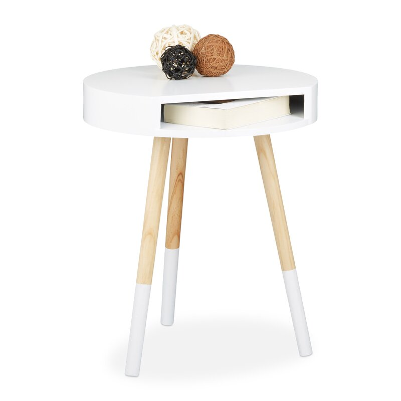 relaxdays beistelltisch mit stauraum bewertungen. Black Bedroom Furniture Sets. Home Design Ideas