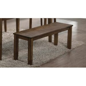 Maisha Wood Bench by Union Rustic