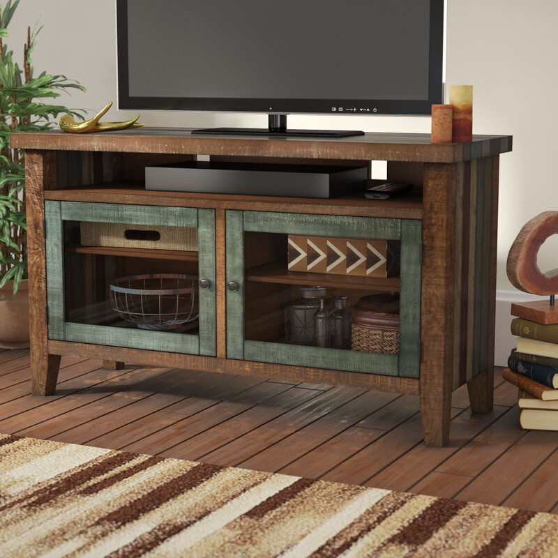 Loon Peak Guadalupe Ridge Tv Stand For Tvs Up To 50 Reviews Wayfair