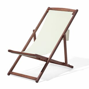 Xanthe Reclining Deck Chair with Cushion by Lynton Garden