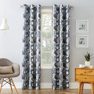 Gray And Silver Curtains Amp Drapes You Ll Love Wayfair