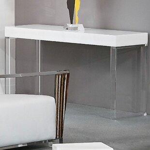Great Contempo Acrylic Console Table