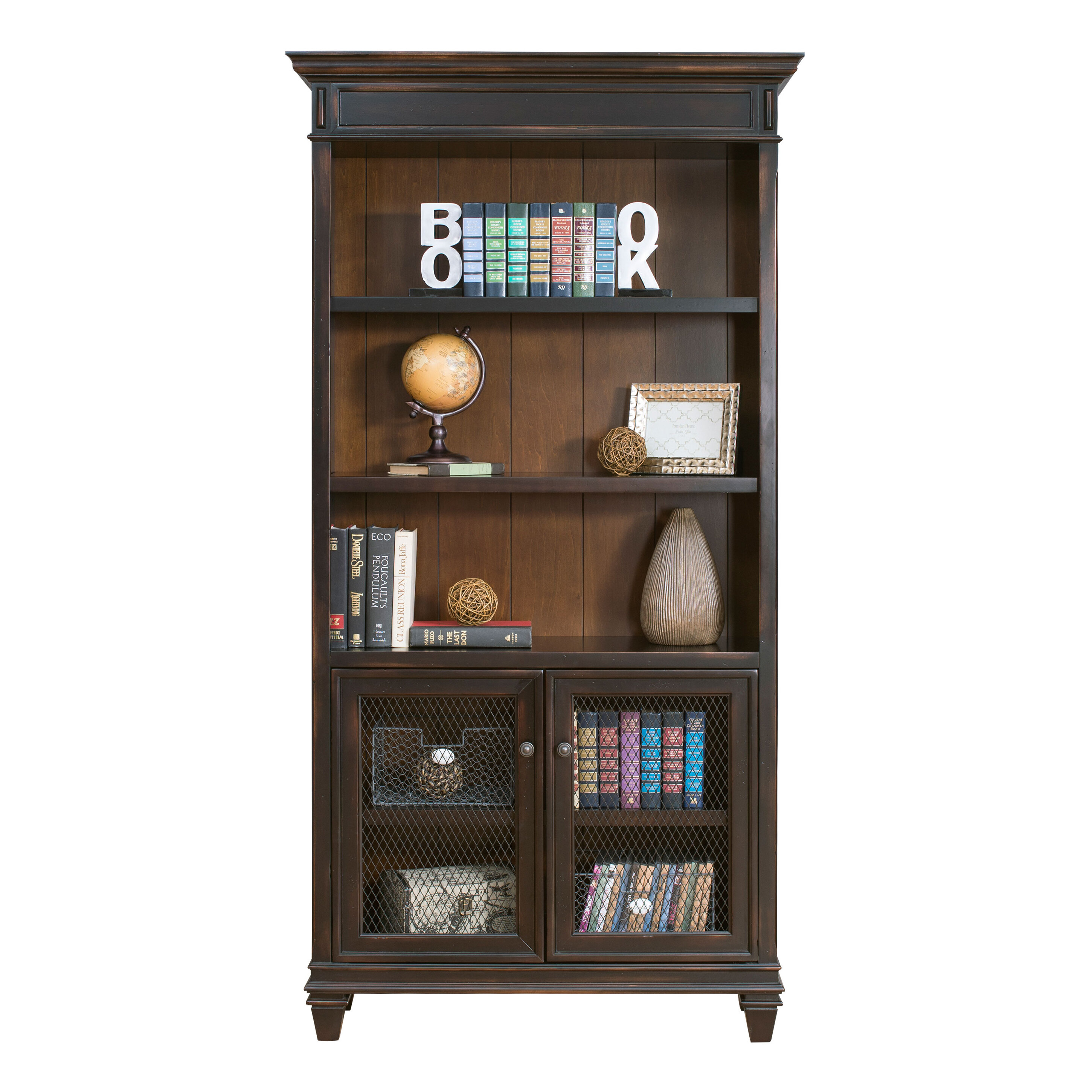 pieces walnut in furniture bookcase art circular master english f storage cabinets cabinet deco at display bookcases case id