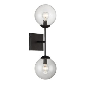 Wall sconces modern contemporary designs allmodern bendooragh 2 light up downlight aloadofball Image collections