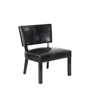 Crocodile Print Slipper Chair. By Powell Furniture