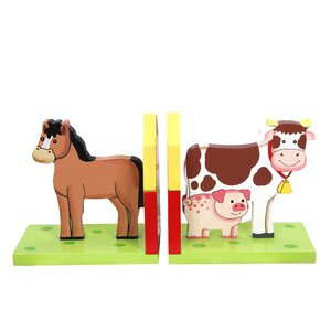 Happy Farm Bookend (Set of 2)