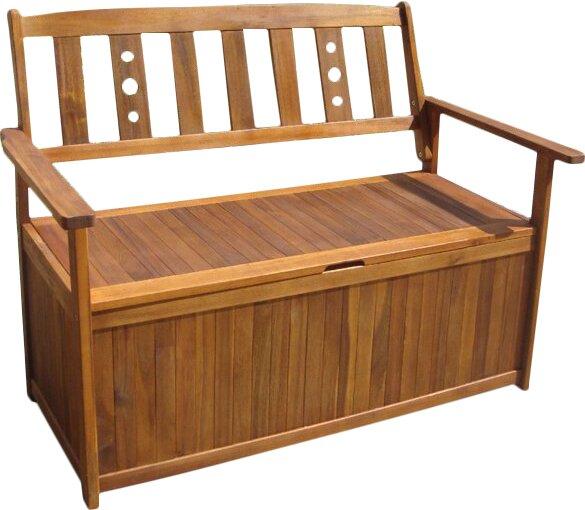 bel tage banktruhe aus akazienholz bewertungen. Black Bedroom Furniture Sets. Home Design Ideas