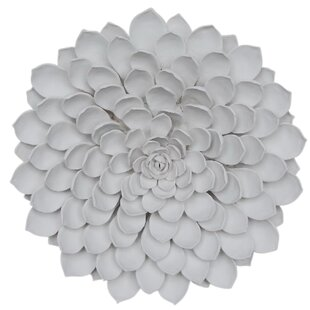 Porcelain Flower Wall Decor | Wayfair