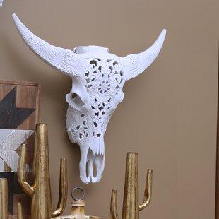 23 Polyresin Bull Skull Wall Décor