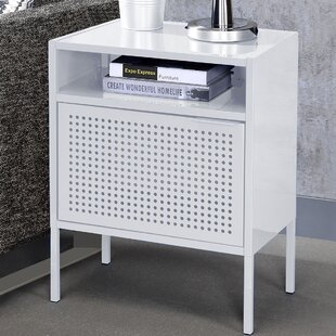 White Nightstand With Usb Port | Wayfair