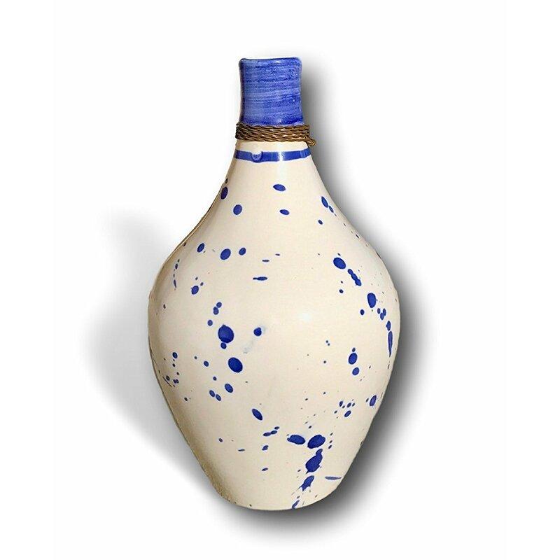 Wrought Studio Brumley Modern Handmade Ceramic Table Vase Wayfair