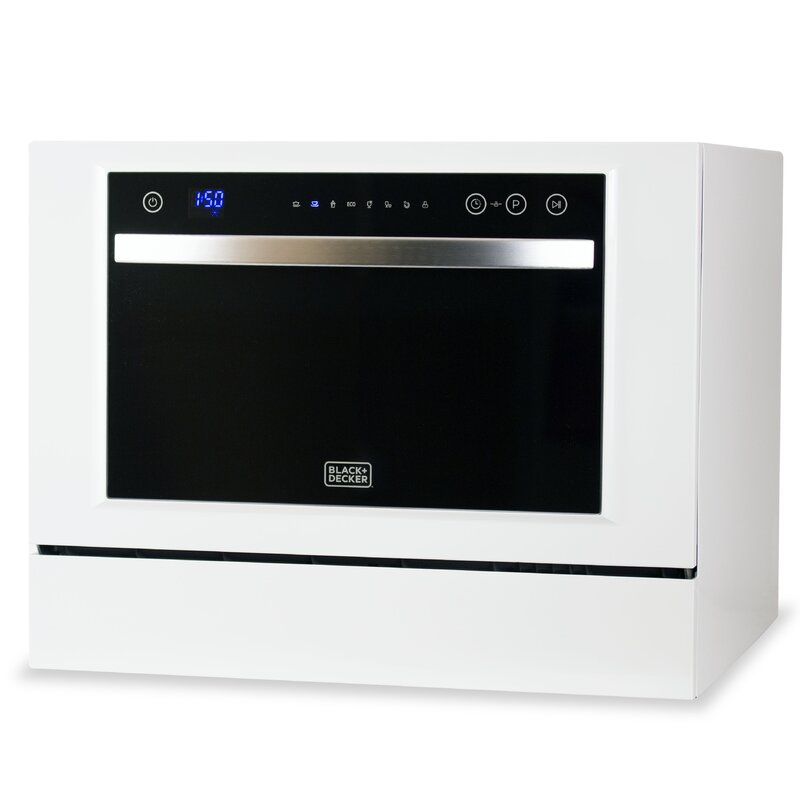 "Black + Decker 21.5"" Countertop Dishwasher"