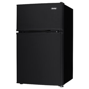 Superior Two Door Compact 3.2 Cu. Ft. Compact/Mini Refrigerator With Freezer