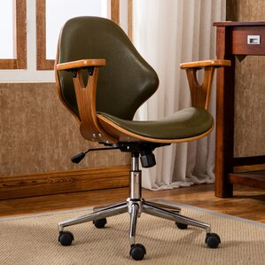 felson midback leather desk chair