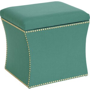 Laguna Upholstered Ottoman by Skyline Furnit..