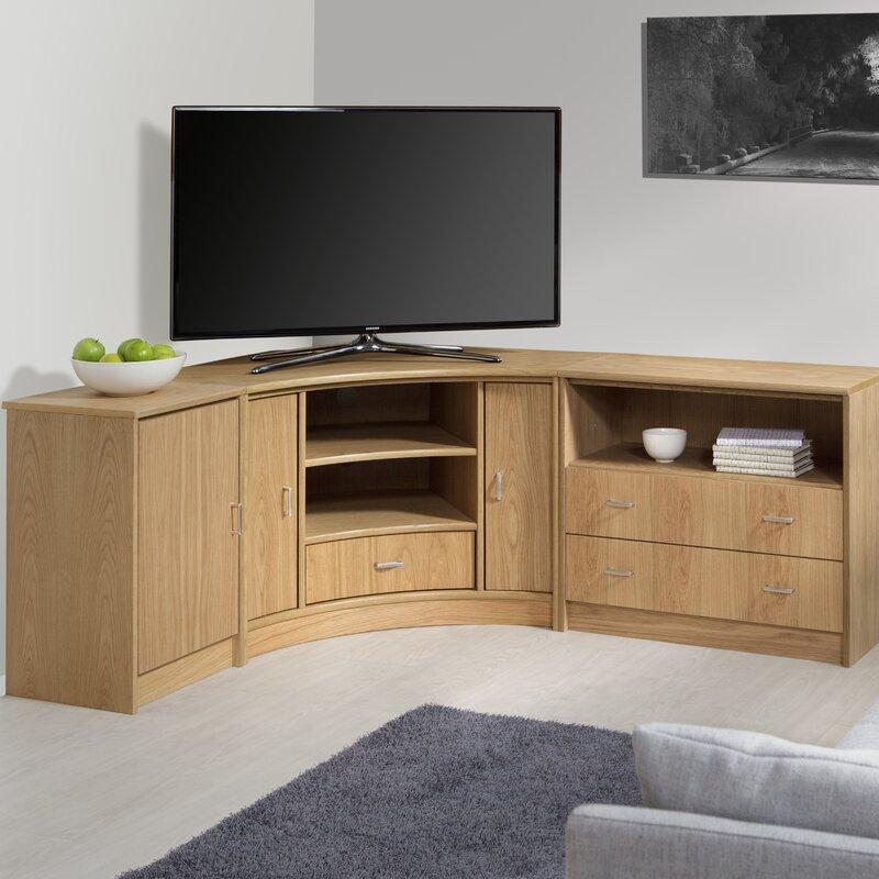 TV-Eckschrank Degroat für TVs bis zu 50\